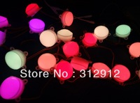 45mm diameter DC12V milky cover WS2801 pixel module,3pcs leds inside;0.72W;20pcs a string