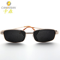 Small pinhole glasses multifunctional corrective glasses sunglasses