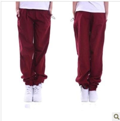 2013 sports pants overalls harem pants male hip-hop pants general casual pants male(China (Mainland))