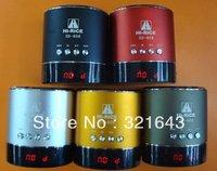 hot  selling 50pcs/lot FREE DHL shiping  Hi-Rice SD-808 USB Mini Speaker Rechargeable  Digital Media  for  phone