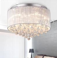2014  Modern Crystal ceiling Light   Crystal for Living Room, Bedroom, Hallway E14  40W*5pcs
