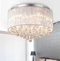 2013 Modern Crystal ceiling Light   Crystal for Living Room, Bedroom, Hallway E14  40W*5pcs