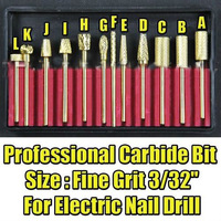 1 Piece x Nail Drill Accessories Pro Carbide Bit 483ONEl F003