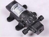 Free shipping 12V 50W micro diaphragm pump discharge pressure backflow PLD-2202A thread water pump wash car
