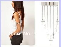 NEW Fashion Wholesale 6pcs Jewelry Alloy Latin Cross ARMLETS ARM Bangle Bracelet   free shipping