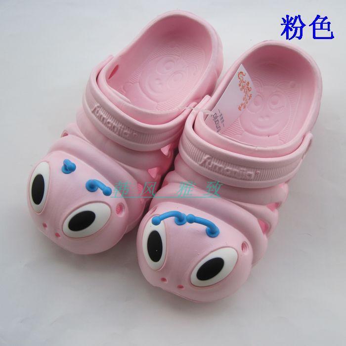 ребенок мультфильм Тапочки дыра сандалии Обувь