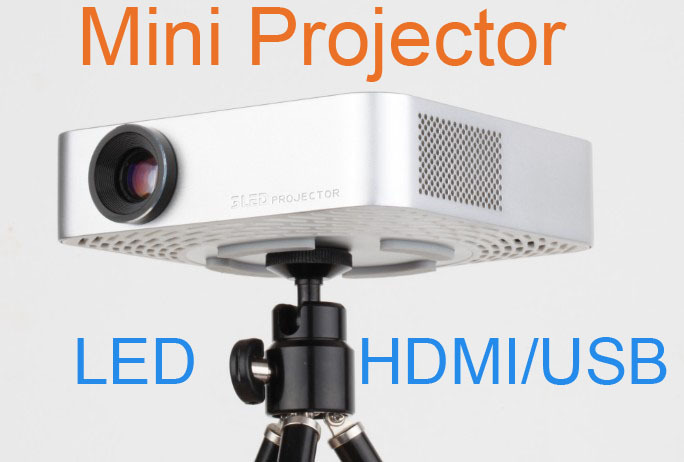Mini portable Projector Multimedia LED Projector Home Theater HDMI+TV Tuner+SD Card Slot+Mini VGA+AV(China (Mainland))