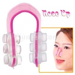 Free Shipping Hot Nose Up Lifting Shaping Clip Clipper Beauty Tool Pink(China (Mainland))