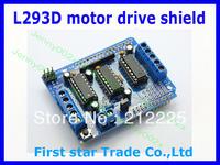 Wholesale 10pcs/lot Motor Drive Shield L293D for Duemilanove Mega / UNO