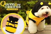 Free shipping!become a Bee ! 2013Spring&amp;autumn Polar fleece dog apparel pet clothes/Dog costume pet products hot selling
