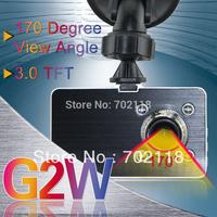 "2013 Original Blackview 1080P Full HD Car DVR G2W With 2.8"" LCD G-sensor H.264 HDMI Enhanced IR Night Vision Russian Language"