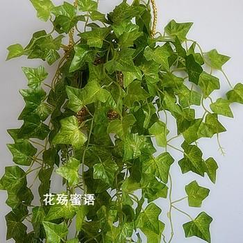 Artificial flower silk flower plastic moscire ivy vines plants hanging vines plant