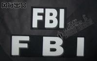 Fbi vest velcro outdoor stickers armatured
