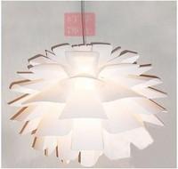 Modern brief home rustic pp plastic pinecone single pendant light