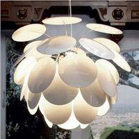 Modern brief fashion aluminum round ball pinecone pendant light