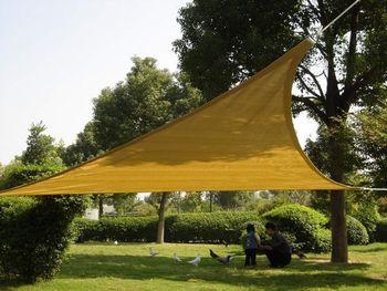5mx5mx5m Beige Color Shade Sail & Shade Net& Shade Mesh 280g/sqm, shade block 95%