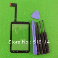 Free Shipping DIGITIZER TOUCH SCREEN LENS for HTC Wildfire S A510e G13 FREE TOOLS