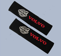 Car Seat Belt Padding Shoulder Cushion Cover for VOLVO free shipping