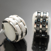 Cheap wholesale trade Korean ceramic titanium steel ring / ring / tail ring wholesale trade