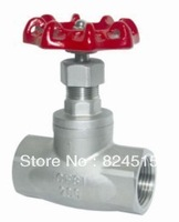 "DN15 1/2""  Stainless steel Globe valve ,200 WOG,ss304,Thread end,"
