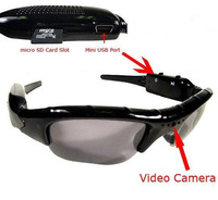 FREESHIPPING-Mini DV DVR Sun glasses Camera Audio Video Recorder dropshipping dropshipping