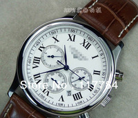 2013 new watch 6-pin multi-male table Roman scale automatic mechanical watch belt men's watches