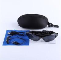 FREESHIPPING-Mini DV DVR Sun glasses mp3 player Camera Audio Video Recorder dropshipping