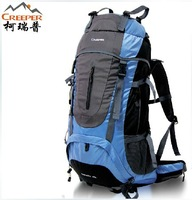 Outdoor Backpack 60l Mountaineering Bag Large Capacity Double-shoulder Outdoor Travel Bag Backpack Female Male