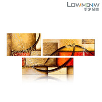 Hand painted frameless oil painting abstract decorative painting on canvas 3n09