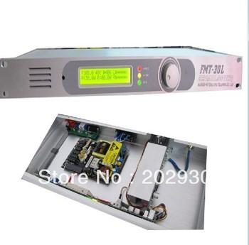 NEW FSN-30L 30W  FM transmitter 0-30w power adjustable radio broadcaster