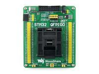 STM32-QFP100 QFP100 TQFP100 FQFP100 PQFP100 STM32 Yamaichi IC Test Socket Programming Adapter 0.5mm Pitch