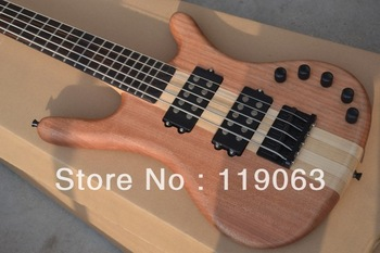 Warwick LTD Corvette 5 strings natural wooden electric bass Top quality free shipping