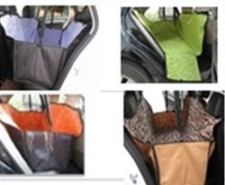 Cradle Dog Car Rear Back Seat Cover Pet Mat Blanket Hammock Cushion Protector CH0144-0163(China (Mainland))