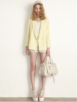 2013 women's dazzlin ice cream creamy the wave slim suit jacket