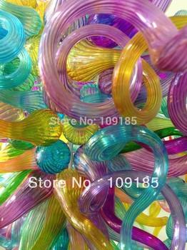 Handmade Ceiling Hanging Glass Chandelier Lighting