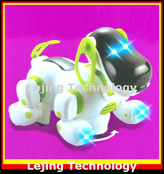 Electric toy dog best gift for kids colors will send by random Free shipping 1 piece(China (Mainland))