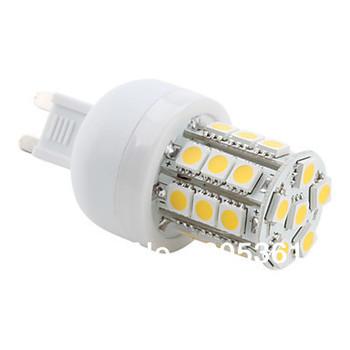G9 27 5050 SMD 3.5W 300LM 2800-3200K Warm White Light LED Corn Bulb (230V)