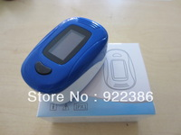 Fingertip digital Pulse Oximeter SpO2 and heart rate monitor Color OLED display 4 direction 6 mode BLUE
