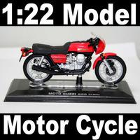 NEW 1:22 Motor Cycle model motorcycle MOTO GUZZI 850 Le Mans Diecast Model In Box Bike
