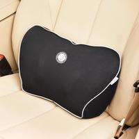 Hot sale Free shipping! Gigi space, memory cotton small lumbar support car tournure lumbar pillow summer breathable cushion