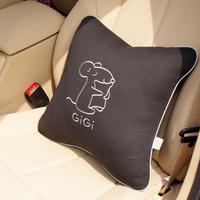 Hot sale Free shipping! Gigi car pillow vehienlar Large pillow cushion auto supplies