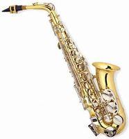 High quality goldlacquer alto Saxophone