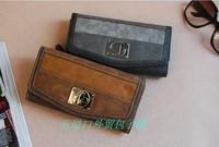 Series vintage women's wallet long design wallet juneng !