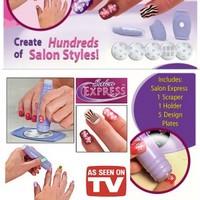 Free Shipping Nail art device machine nail art set finger  nail printer