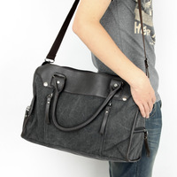 Brief handbag casual canvas bag  male shoulder bag messenger bag travel bag