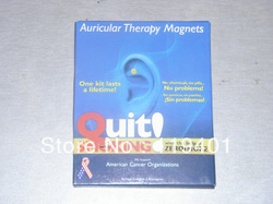 X267 ! Retail Packing ! Auricular Therapy Magnets Quit Smoking With The Help Of Zero Smoke / Smoking Cessation(China (Mainland))