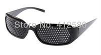 FREE SHIPPING ! 2 Pcs/ Lot New arrival Eyes Exercise Pinhole Glasses Eyesight Vision Improve
