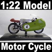 NEW 1:22 Motor Cycle model motorcycle MOTO GUZZI 8 Cilindri Diecast Model In Box Bike