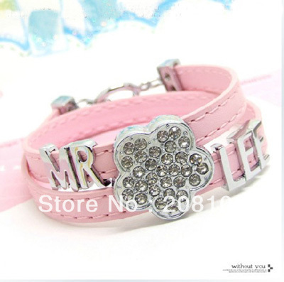 free shipping 8MM DIY plain letters for bracelet A-Z 130pcs(China (Mainland))