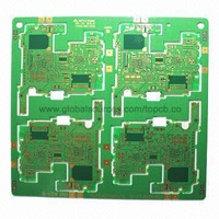 4 + 2 + 4/High-density 10-layer PCB with ENIG Surface Finishing, Made of FR-4 TG150